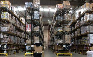 Photo: Amazon warehouse.
