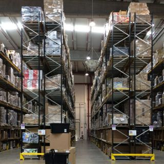 Photo: Amazon warehouse.