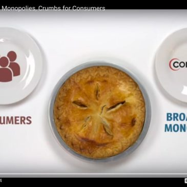 Pie for Broadband Monopolies Video From Public Knowledge