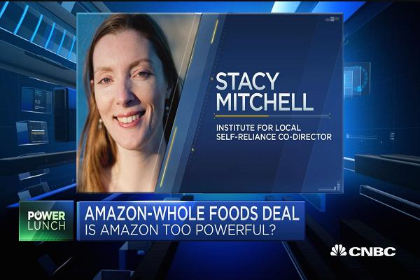 Amazon-Whole Foods deal bad for competition: Expert