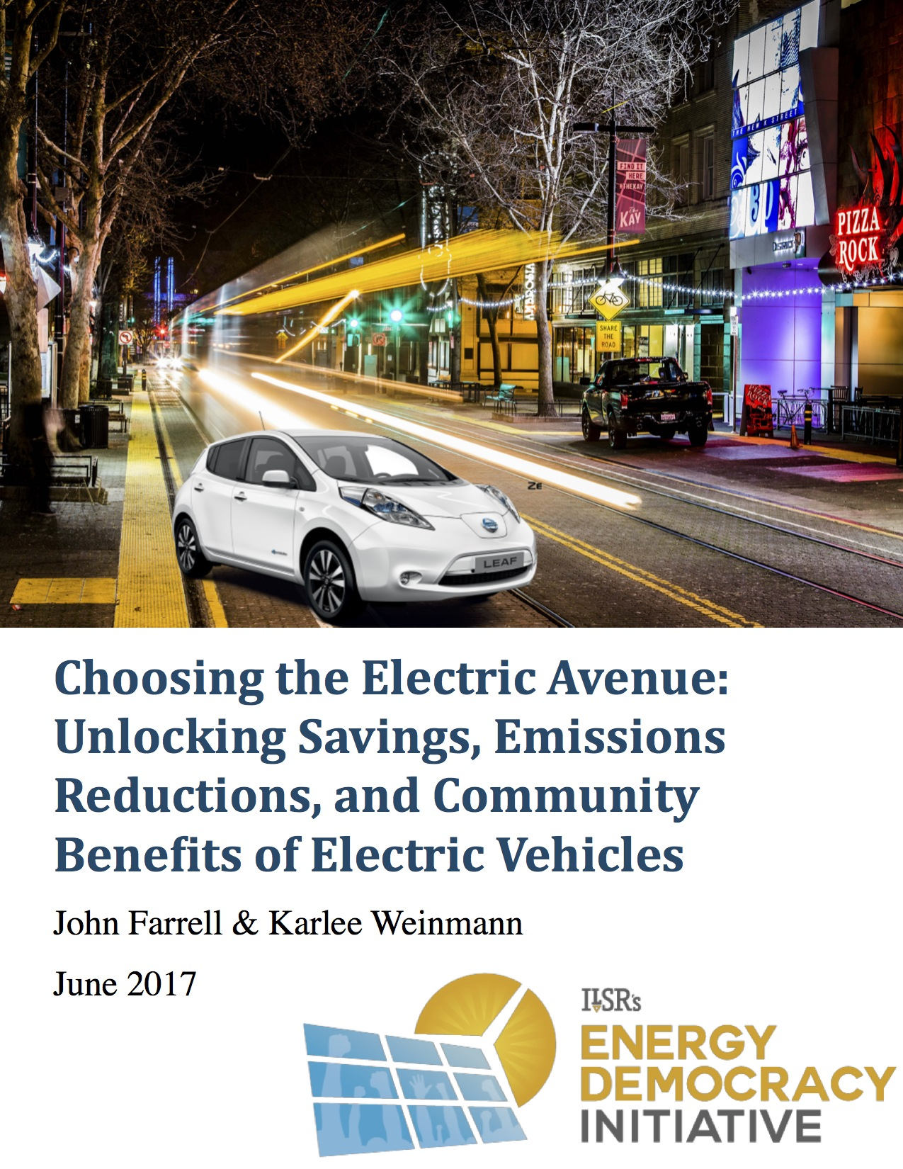 benefits of electric vehicles Electric vehicles offer the promise of reduced environmental externalities relative to their gasoline counterparts we combine a theoretical discrete-choice model of.