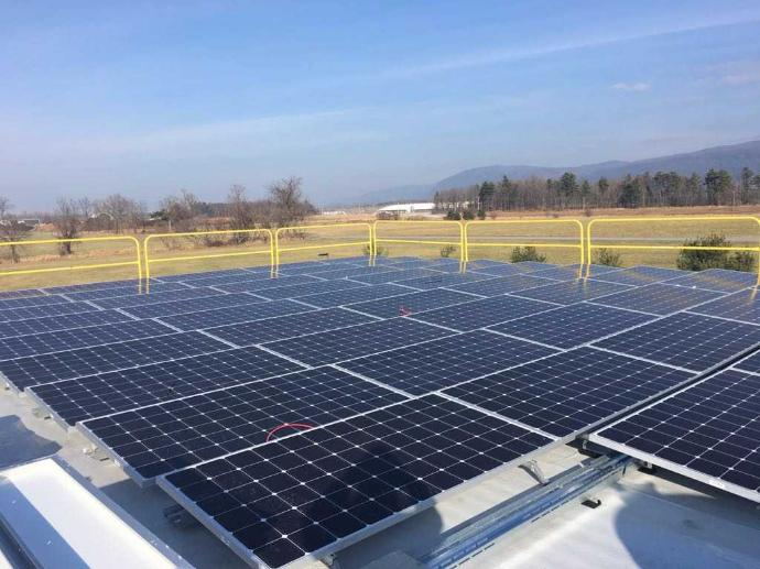 Middlebury Service Center Low-Income Solar Array