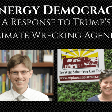 Recording: Energy Democracy – A Response to Trump's Climate Wrecking Agenda