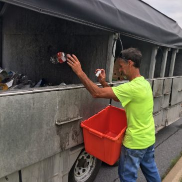Curb Sort Recycling is a Viable Option in Rural and Urban Settings