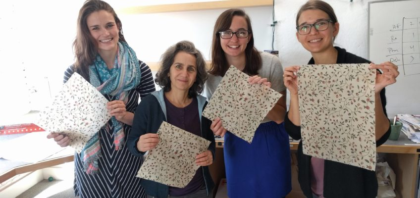 Zero Waste Holiday Gift Tutorial: DIY Reusable Food Wrap
