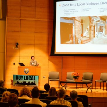 Watch ILSR's Olivia LaVecchia on Strategies for Cities to Support Locally Owned Businesses