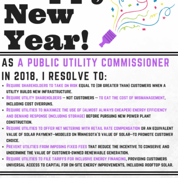 New Year's Resolutions for Utility Regulators