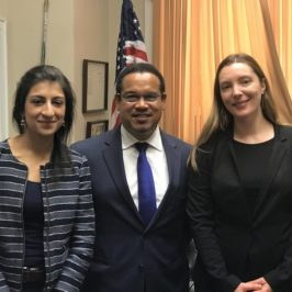 "Listen: Stacy Mitchell on ""We the Podcast"" with Rep. Keith Ellison and Lina Khan"