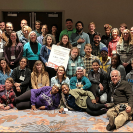Attendees of the 2018 Community Composting Workshop