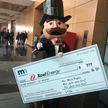 "ILSR Video Parody Lampoons Xcel Energy's Ask for ""Blank Check"" in Minnesota Legislature"