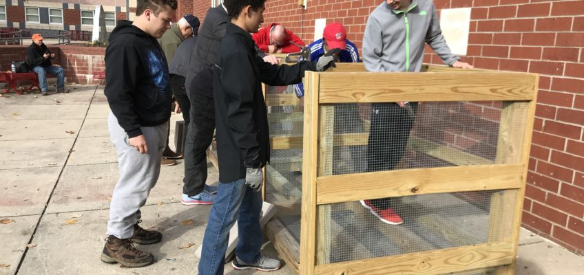 ILSR Launches Composting Demonstration Site in Maryland High School