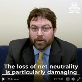 Press Release: Losing Net Neutrality will Harm Rural America, ILSR Broadband Expert featured in Bernie Sanders video