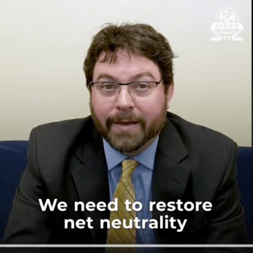 Losing Net Neutrality will Harm Rural America, ILSR Broadband Expert featured in Bernie Sanders video