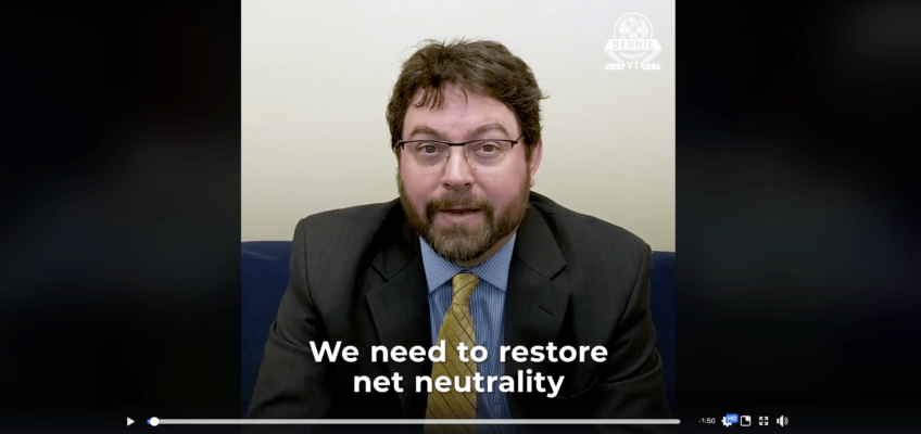 Losing Net Neutrality will Harm Rural America, ILSR Broadband Expert featured in Bernie Sanders video