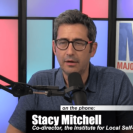 Listen: ILSR's Stacy Mitchell Talks Amazon and Antitrust on the Majority Report with Sam Seder
