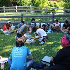 ILSR Trains Teen Leaders on the Basics of Composting