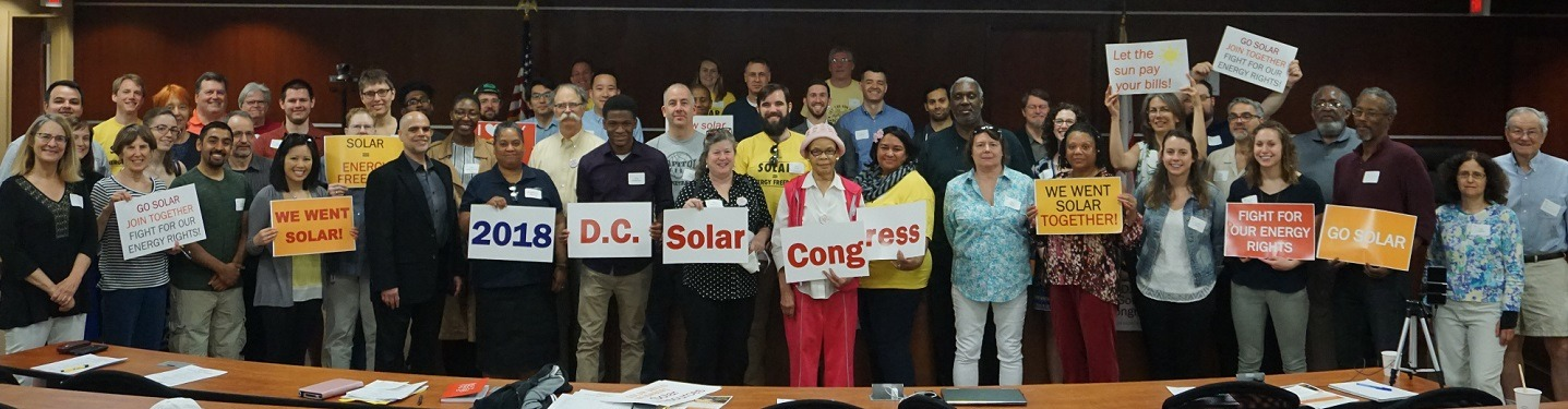 Solar Co-ops Support Clean Energy Advances in D.C. — Episode 64 of Local Energy Rules Podcast