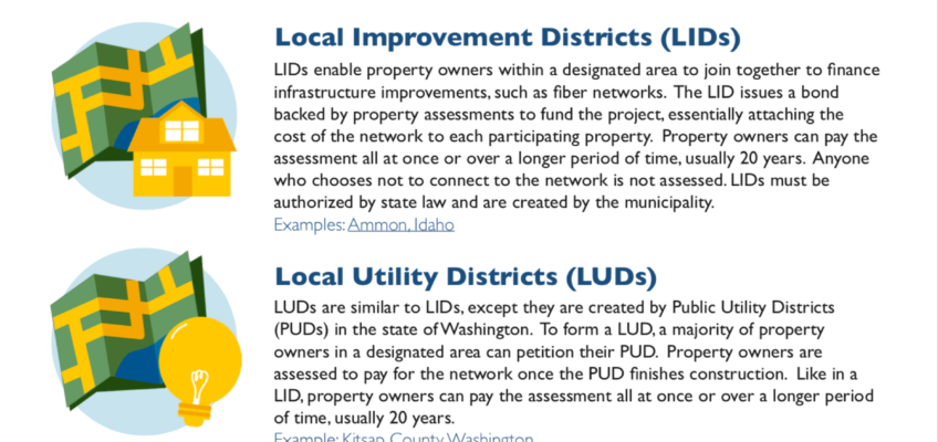 Creative Sources For Funding Fiber Infrastructure Projects