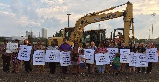 Residents Protest Dollar Store Development In North Tulsa Okla P O Credit Black Wall Street Times 2017