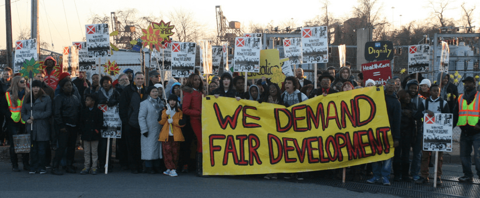 We Demand Fair Development / United Workers / March to Stop the Incinerator 2013 Flickr CC