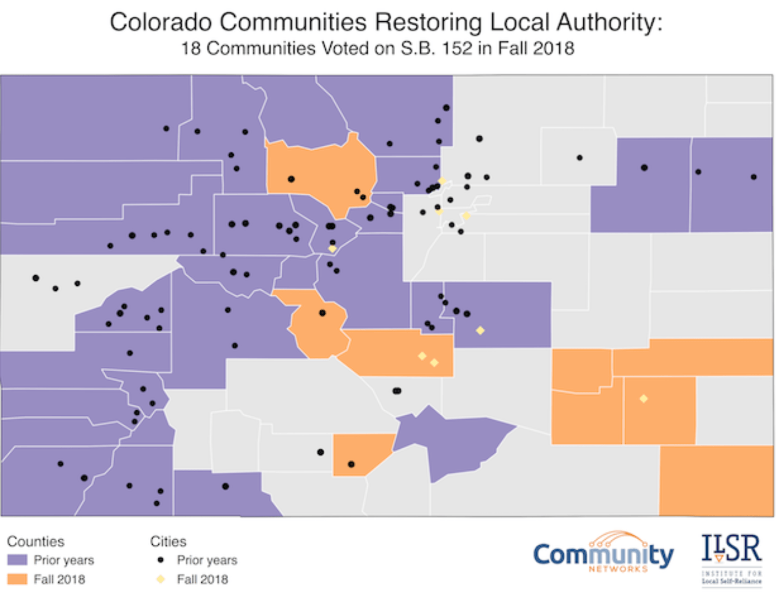 Colorado Map: Communities Opt Out of Restrictive State Law ...