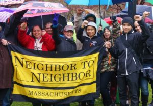 A group of Neighbor To Neighbor organizers, Holyoke, Mass.