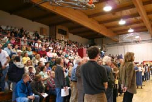 Crowd of 1,400 Turns Out as Montana County Bans Big Boxes