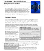 Burlington Telecom Fact Sheet