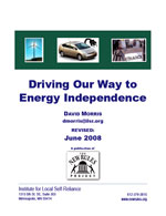 Driving Our Way to Energy Independence