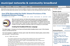 How the Obama Administration Dismantled the Public Interest Provisions of the Broadband Stimulus